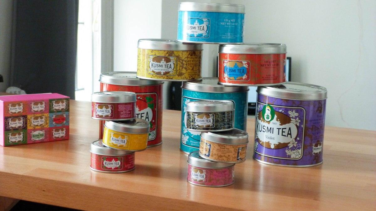 Mes coups de coeur Kusmi Tea